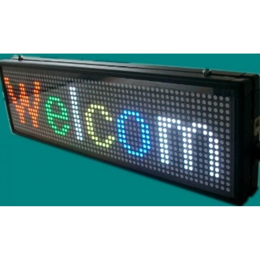 ΕΠΙΓΡΑΦΗ LED 167X 23H RGB LED  Ηλεκτρονική Πινακίδα -Επιγραφές 067-0007