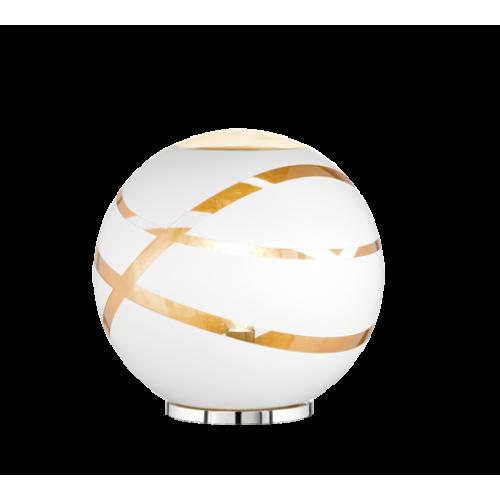 ΕΠΙΤΡΑΠΕΖΙΟ WHITE MAT GLASS D 30 CM