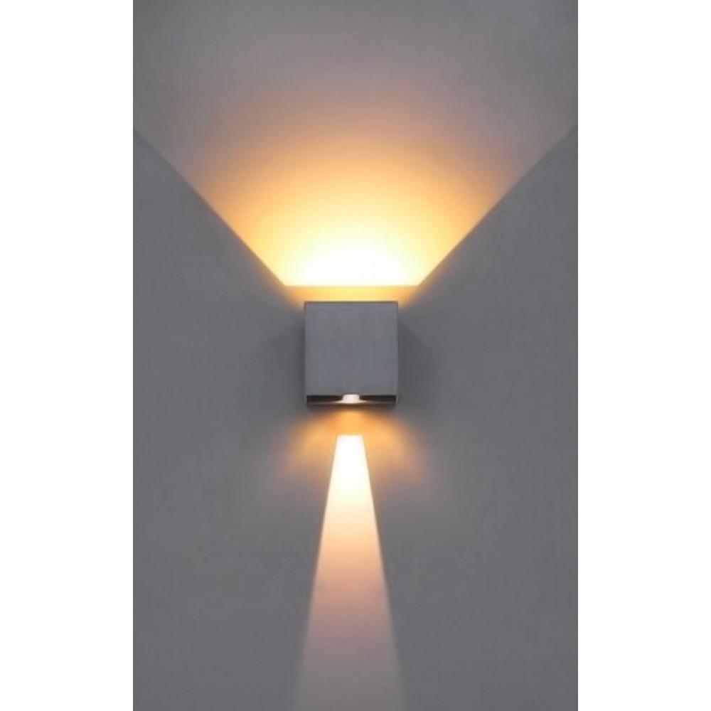 Απλίκα Τοίχο LED  Up Down με Ρυθμιζόμενες Μοίρες Φωτισμού 10-100° OUTDOOR | ΚΗΠΟΥ 393-96401