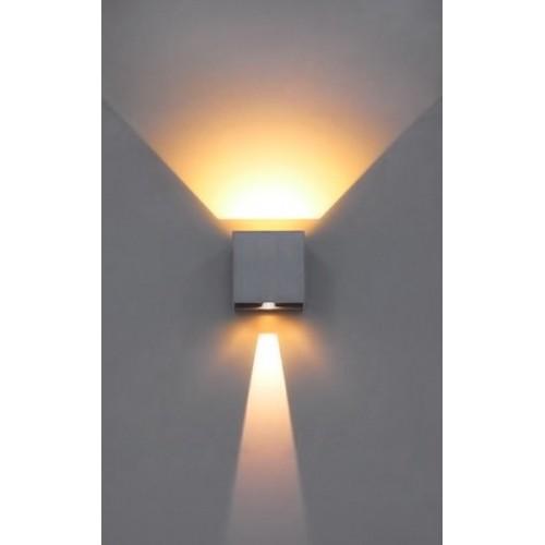 Απλίκα Τοίχο LED  Up Down με Ρυθμιζόμενες Μοίρες Φωτισμού 10-100°