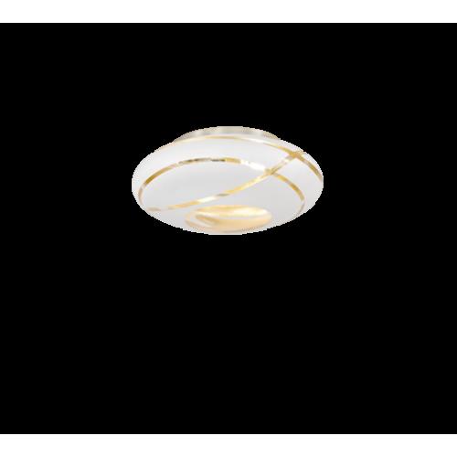 ΟΡΟΦΗΣ 2/ΦΩΤΟ WHITE MAT GLASS D 40 CM