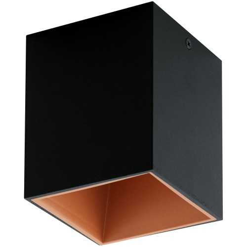 ΟΡΟΦΗΣ LED BLACK COPPER L 100 MM H 120 MM