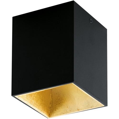 ΟΡΟΦΗΣ LED BLACK GOLD L 100 MM H 120 MM