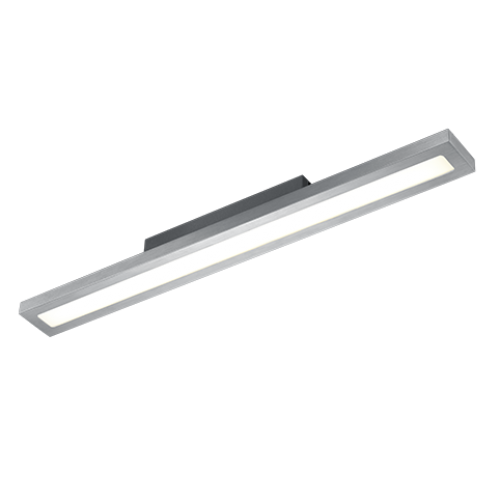 ΟΡΟΦΗΣ LED BRUSHED ALUMINIUM 24W H 6CM