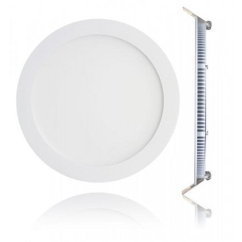 PL LED 18W Λευκό Πλαίσιο