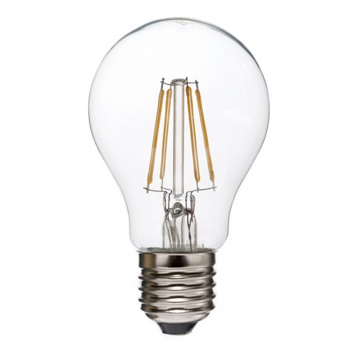 ΛΑΜΠΑ LED FILAMENT 8W A60 '''DIMMABLE'' E27 220V